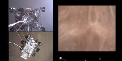 Nasa atterraggio Perseverance Marte