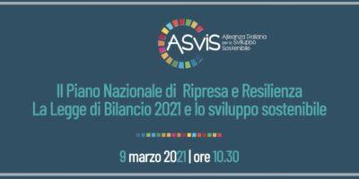 Asvis-piano-nazionale-sviluppo-resilienza-sviluppo-sostenibile